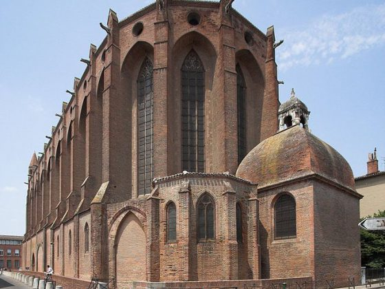 Church of Jacobins in Toulouse, France