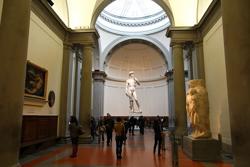 The academia gallery in florence, David