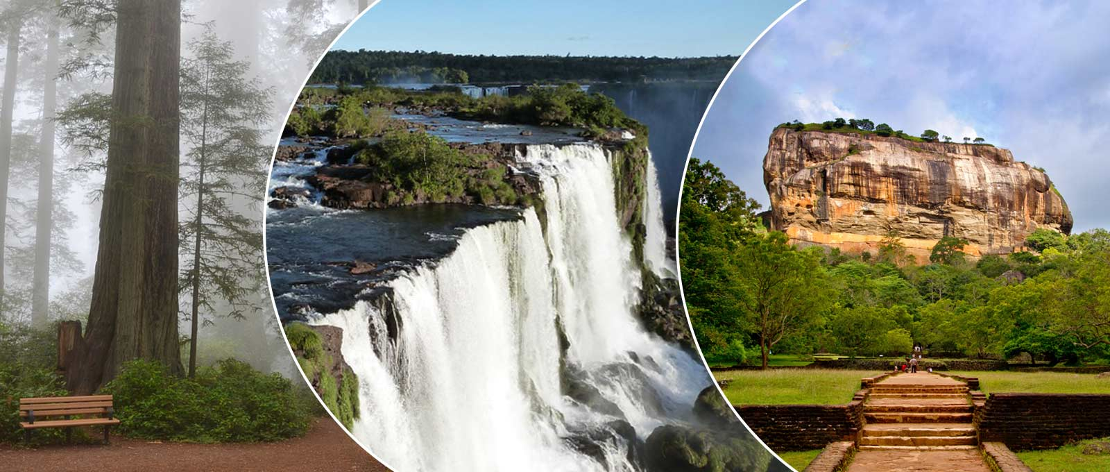 Most Visited Places, Natural Attractions