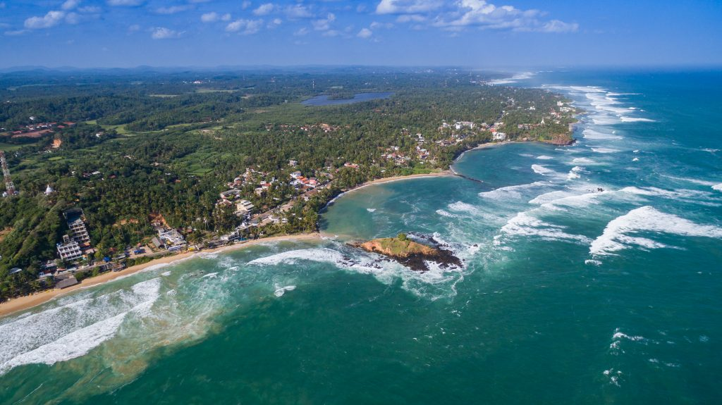"""Mirissa Beach 