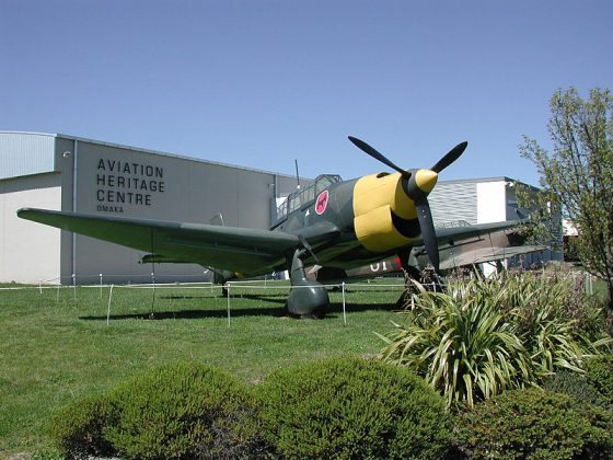 Aviation Heritage Museum   Image Courtesy: By Pseudopanax at English Wikipedia (Own work) [Public domain], via Wikimedia Commons