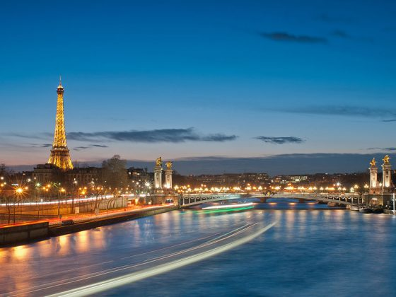 Eiffel Tower and Pont Alexandre III | Image Credit - Getfunky Paris , CC By SA 2.0 via Wikipedia Commons