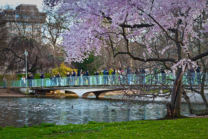 St James's Park London | Image Credit - Garry Knight, CC By SA 2.0 via Wikipedia Commons