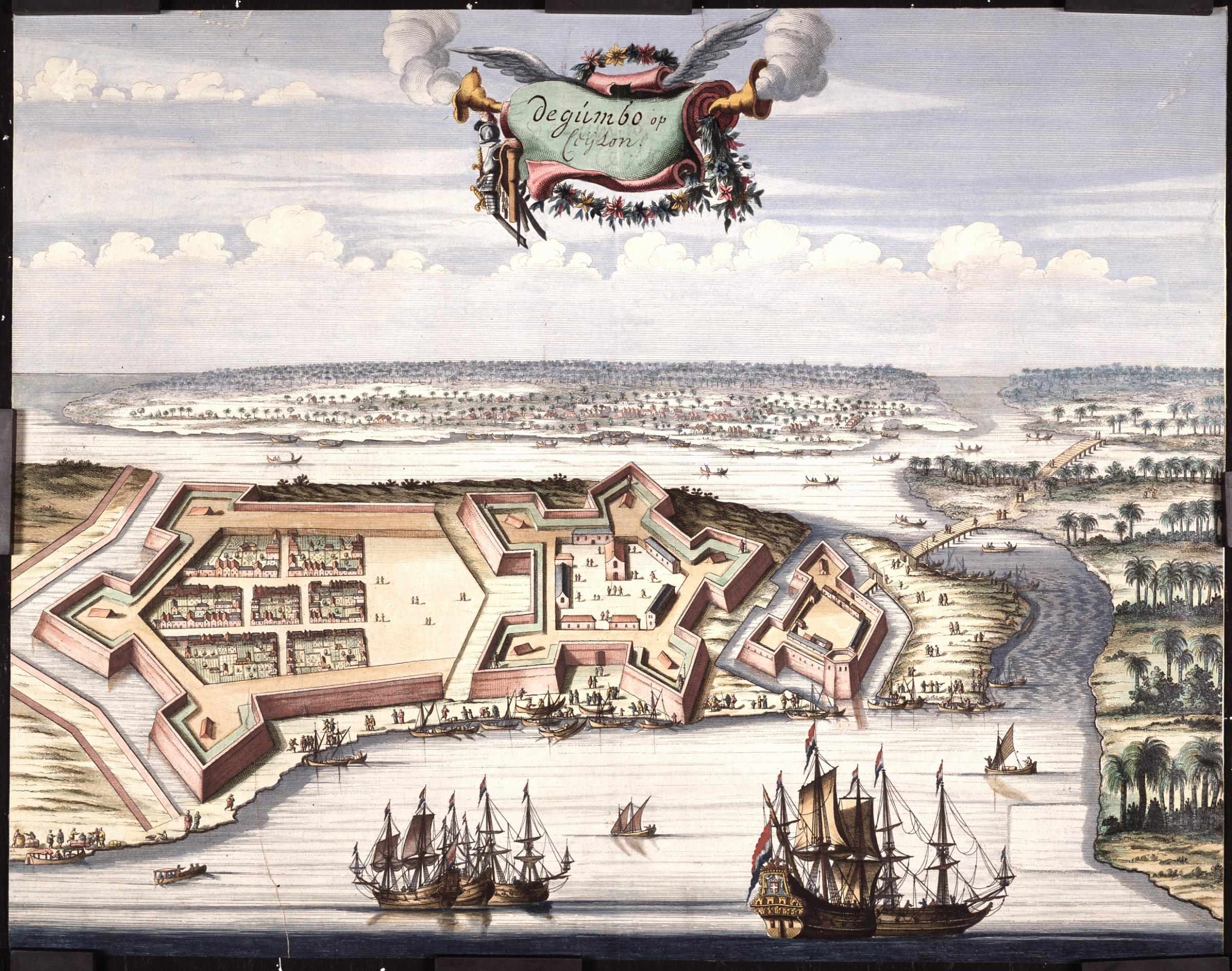 The Dutch Fort of Negombo