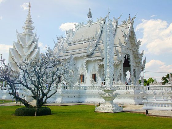 Wat Rong Khun; White Temple North Thailand