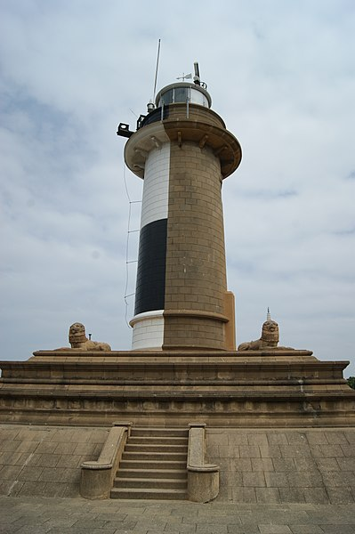 The Colombo lighthouse at Colombo Harbour