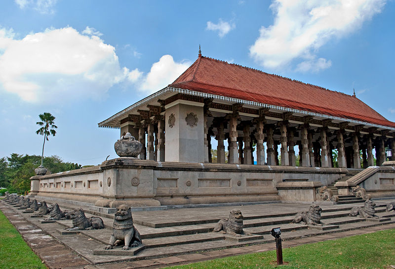 Independence Commemoration Hall in Sri Lanka