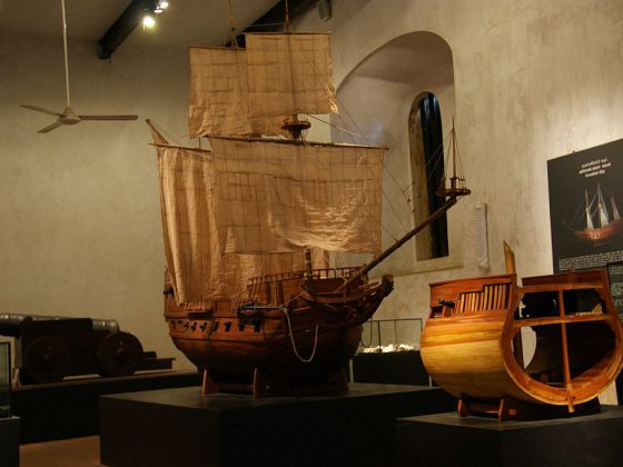 Galle Maritime Museum   Image Credit - Dan arndt, CC BY-SA 4.0 via Wikipedia Commons