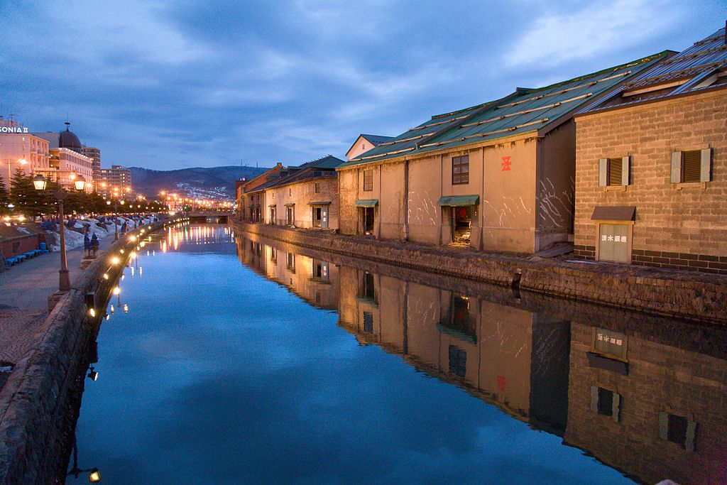 Otaru Canal   Image Credit - Flickr user: Chi ing, CC BY 2.0 Via Wikipedia Commons
