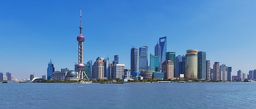 The Bund Shanghai   Image Credit: Mgmoscatello, Shanghai pudong as seen from the bund, CC BY-SA 3.0