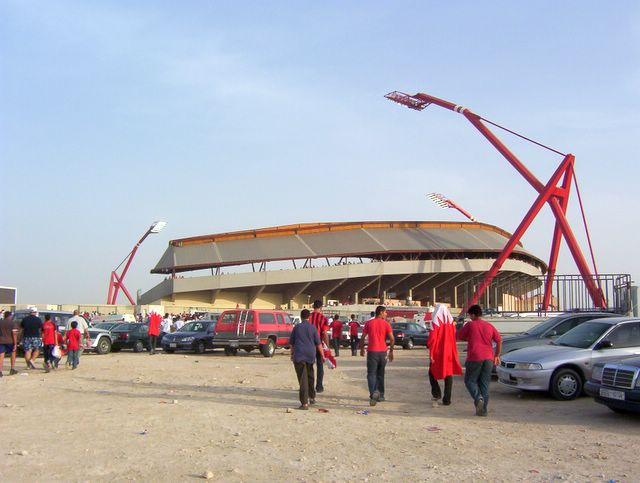 Isa Town, Chanad assumed (based on copyright claims)., Bahrain National Stadium, CC BY-SA 2.5 Via Wikimedia Commons