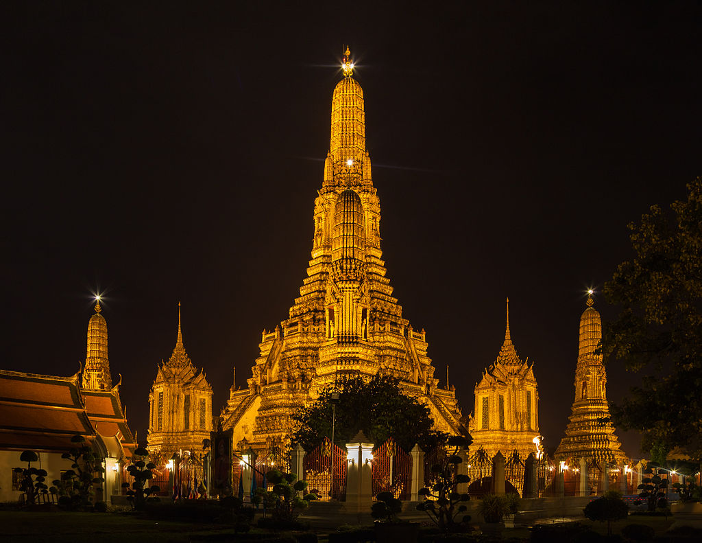 "Wat Arun Temple | Image Credit: Diego Delso, <a href=""https://commons.wikimedia.org/wiki/File:Templo_Wat_Arun,_Bangkok,_Tailandia,_2013-08-22,_DD_37.jpg"">Templo Wat Arun, Bangkok, Tailandia, 2013-08-22, DD 37</a>, <a href=""https://creativecommons.org/licenses/by-sa/3.0/legalcode"" rel=""license"">CC BY-SA 3.0</a>"