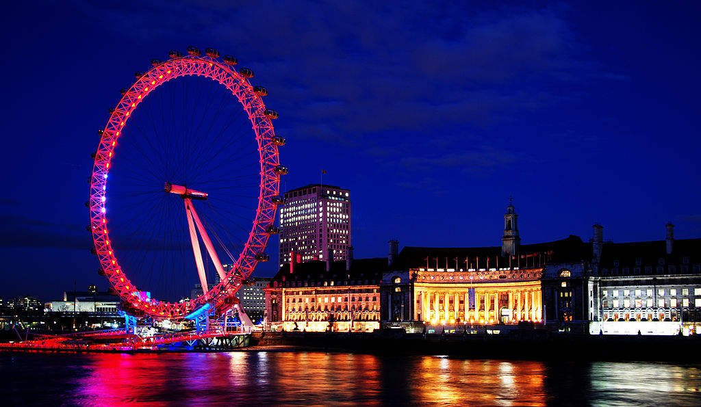 "London Eye | Image Credit: <a href=""https://www.flickr.com/people/97006177@N00"">Michal Osmenda</a> from Brussels, Belgium, <a href=""https://commons.wikimedia.org/wiki/File:London_Eye_(1302205182).jpg"">London Eye (1302205182)</a>, <a href=""https://creativecommons.org/licenses/by-sa/2.0/legalcode"" rel=""license"">CC BY-SA 2.0</a>"