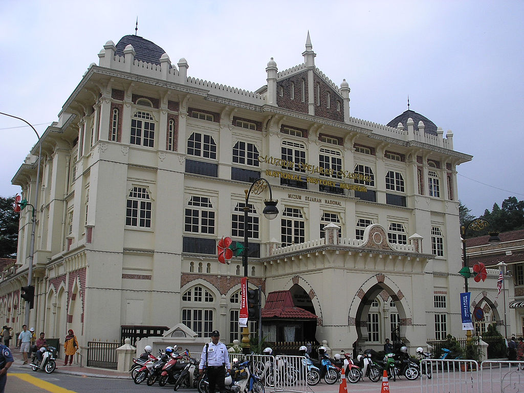 "National Museum of Malaysia | Image Credit: <a href=""https://commons.wikimedia.org/wiki/User:Two_hundred_percent"">User:Two hundred percent</a>, <a href=""https://commons.wikimedia.org/wiki/File:National_History_Museum,_Kuala_Lumpur_(February_2007).jpg"">National History Museum, Kuala Lumpur (February 2007)</a>, <a href=""https://creativecommons.org/licenses/by-sa/2.5/legalcode"" rel=""license"">CC BY-SA 2.5</a>"