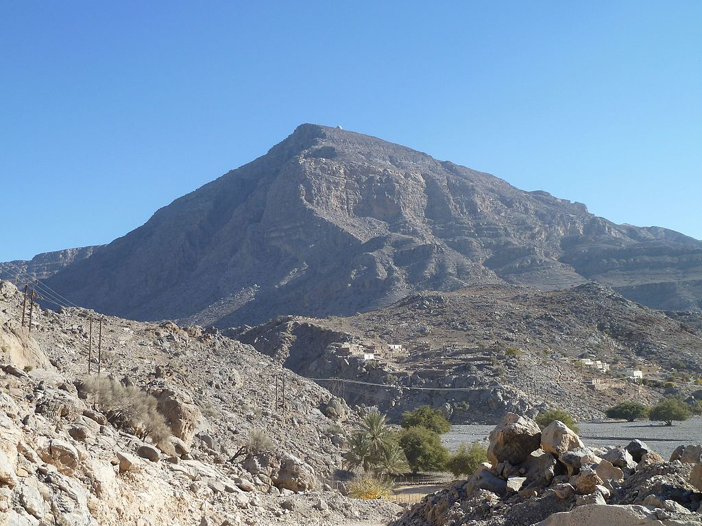 "Hajar Mountains | Image Credit: Toppazz, <a href=""https://commons.wikimedia.org/wiki/File:Hajar_Mountains,_Musandam,_Oman_-_panoramio_(5).jpg"">Hajar Mountains, Musandam, Oman - panoramio (5)</a>, <a href=""https://creativecommons.org/licenses/by/3.0/legalcode"" rel=""license"">CC BY 3.0</a>"