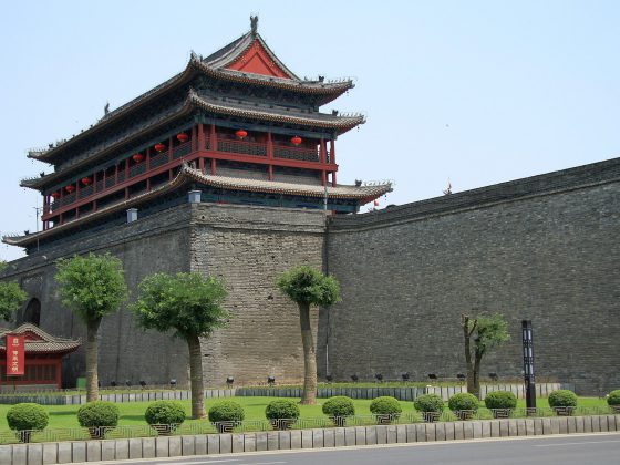 Xian City Wall | Image Credit: Ronnie Macdonald from Chelmsford, United Kingdom, Xian City Wall 1 (5458609947), CC BY 2.0