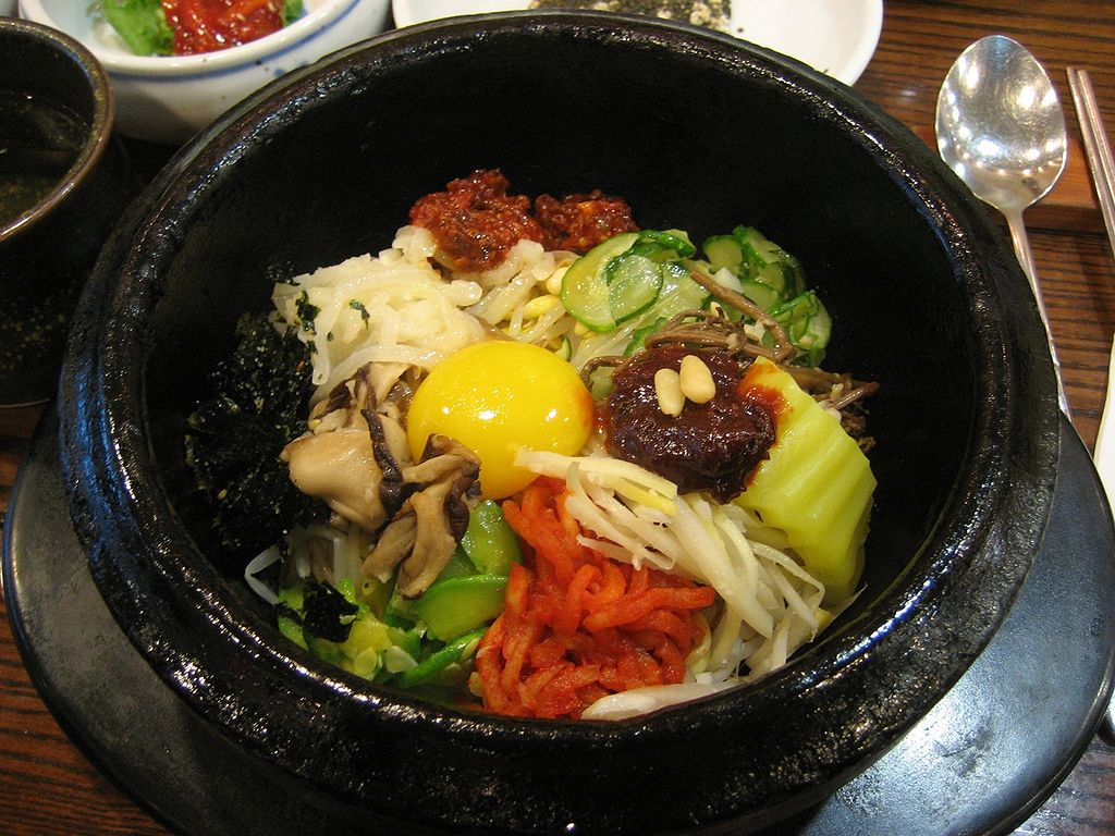 "Bibimbap | Image Credit: <a href=""https://www.flickr.com/photos/agnes_ly/"">Agnes Ly (Agnes Ly)</a> at <a href=""/wiki/Flickr"">Flickr</a>, <a href=""https://commons.wikimedia.org/wiki/File:Korean_cuisine-Bibimbap-08.jpg"">Korean cuisine-Bibimbap-08</a>, <a href=""https://creativecommons.org/licenses/by-sa/2.0/legalcode"" rel=""license"">CC BY-SA 2.0</a>"
