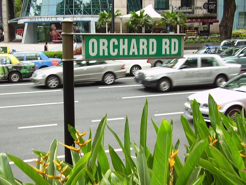 Orchard Road Singapore | Image Credit - anonymous, CC BY-SA 3.0 Via Wikimedia Commons