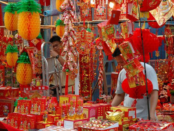 Chinese New Year Singapore | Image Credit - (WT-shared) Jpatokal at wts wikivoyage, CC BY-SA 4.0 Via Wikimedia Commons