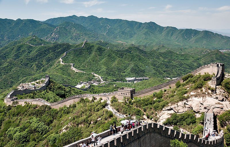 China Great Wall | Photo by CEphoto, Uwe Aranas or alternatively © CEphoto, Uwe Aranas, Badaling, CC BY-SA 3.0 Via Wikimedia Commons