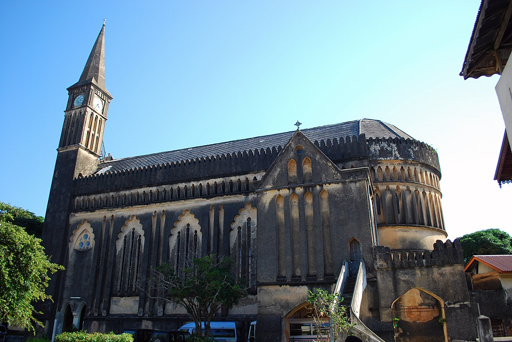 Anglican Christ Church in Zanzibar
