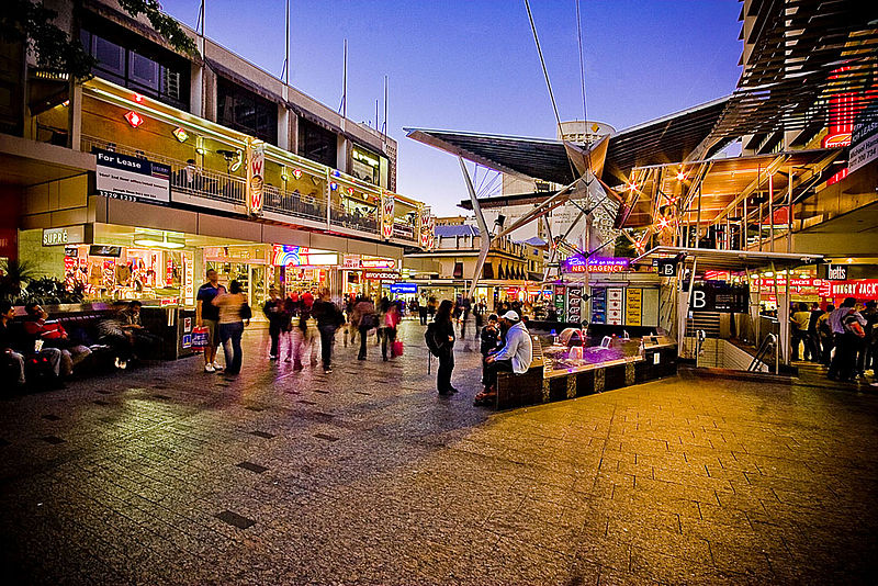 Queen Street Mall shopping Image